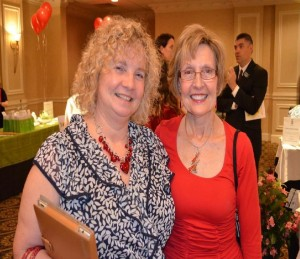 Kathy Spence, Co-Owner and Janis Swartz, RN PA HOME CARE proudly supports GO RED for Women...