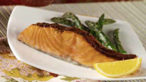 Sweet, Spiced Salmon from Go Red